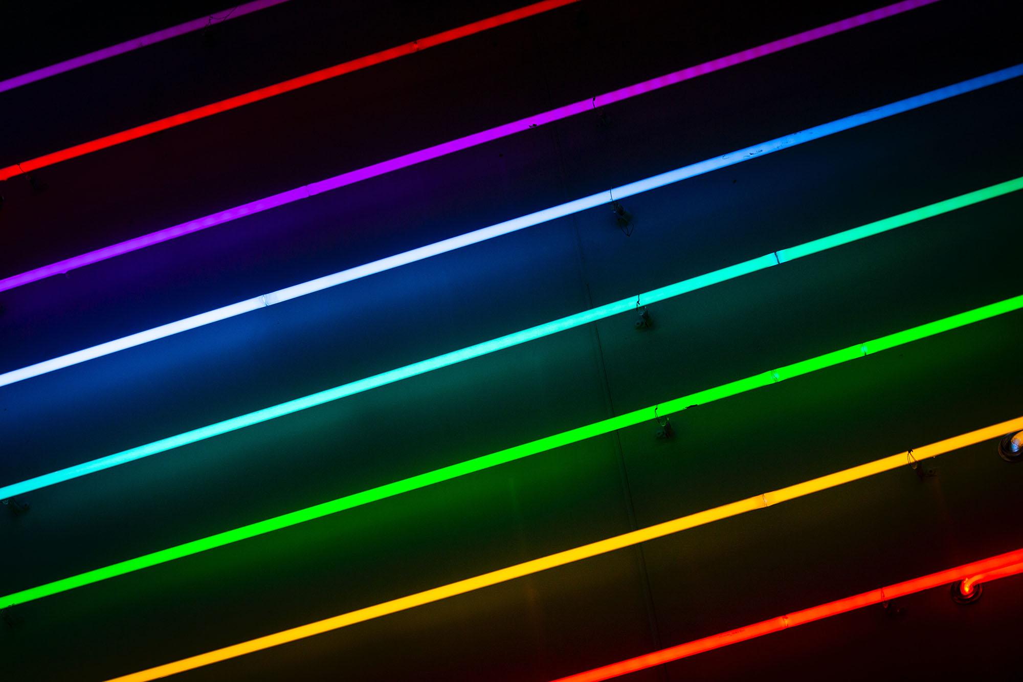 Feature photo by Drew Beamer/Unsplash. Rainbow lights.